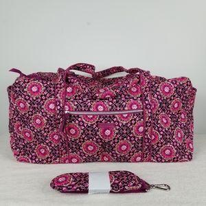 Vera Bradley Iconic Large Duffel Bag NWT